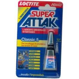 SUPER ATTACK LOCTITE CLASSIC 5