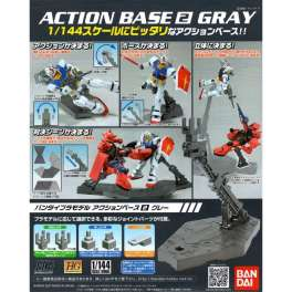 GUNDAM ACTION BASE 2 GRAY