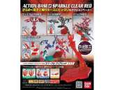 GUNDAM ACTION BASE 2 CLEAR RED